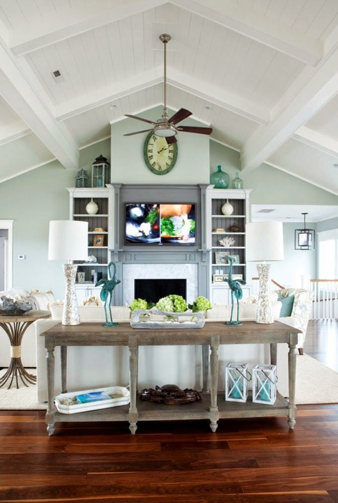 Ideas : How to Decorate a Room with a Vaulted / Cathedral