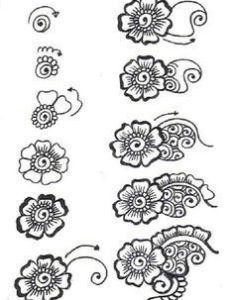 Henna designs for beginners step by google search also   dae ba da fd   fg zentangle rh in pinterest
