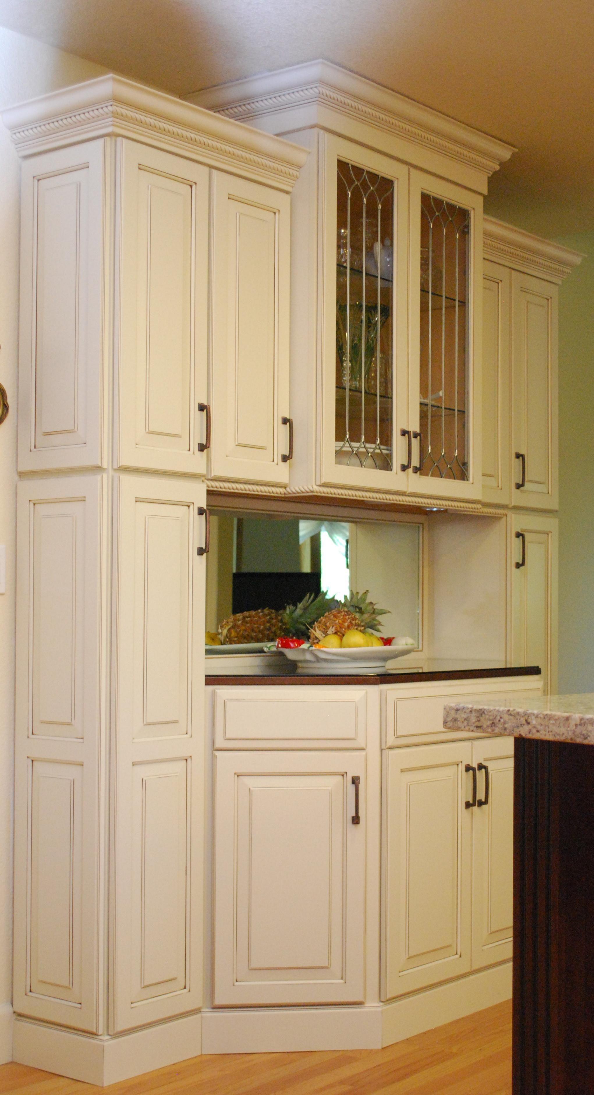 waypoint kitchen cabinets corner table sets living spaces style 610 in maple hazelnut glaze