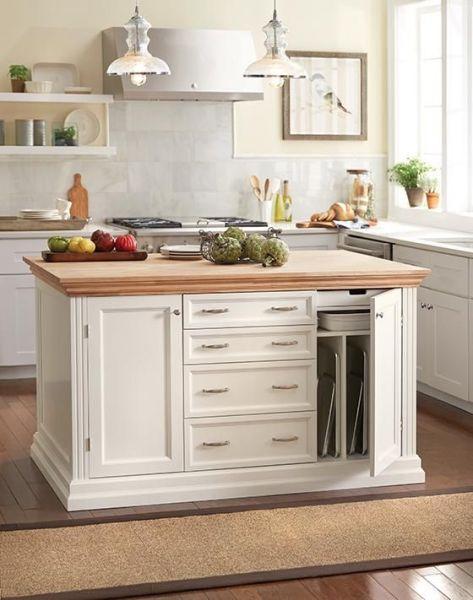 martha stewart kitchen island Martha Stewart Living™ Addison Baking Island - Kitchen