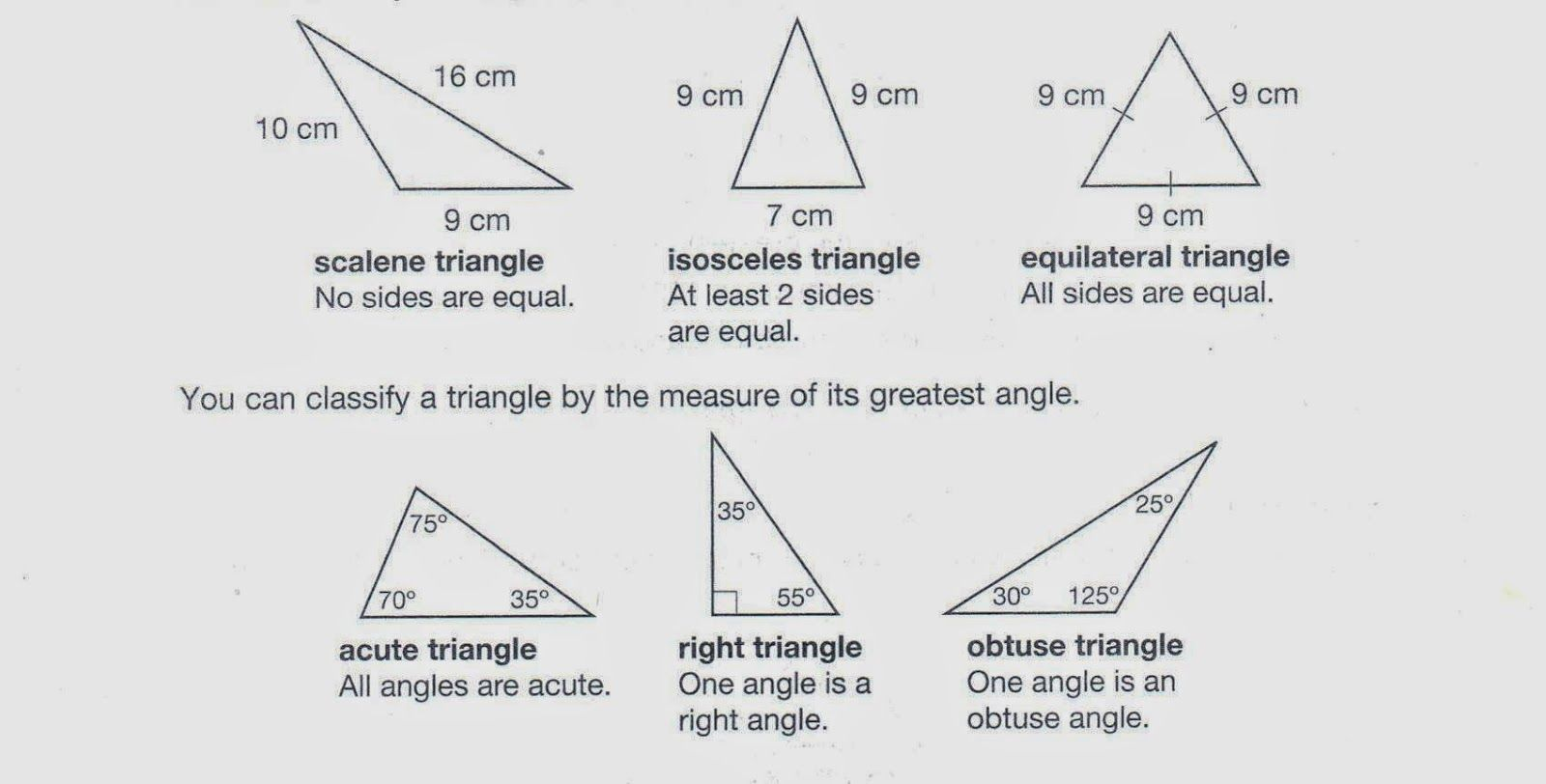 Classify Angles Worksheet