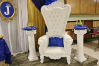 Royal Baby Shower Baby Shower Party Ideas | Royal prince ...