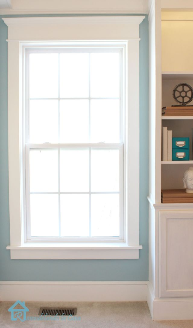 How to install window trim For the Home Pinterest