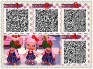 Sanrio Outfit Qr Code Acnl Codes Kawaii