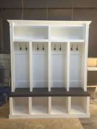 Entryway locker Dropzone for Mudroom - 4 Cubby | ENTRYWAY ...
