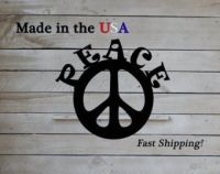 Peace Sign Wall Decor Unique Wall Decorwonderful Metal ...