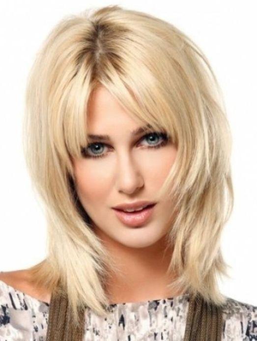 Aktuelle Mittellange Haar Frisuren 2014 Trend 25 Frisuren