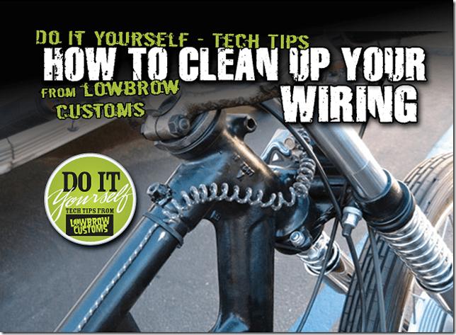 Custom Motorcycle Wiring Harness Kits Simple Motorcycle Wiring