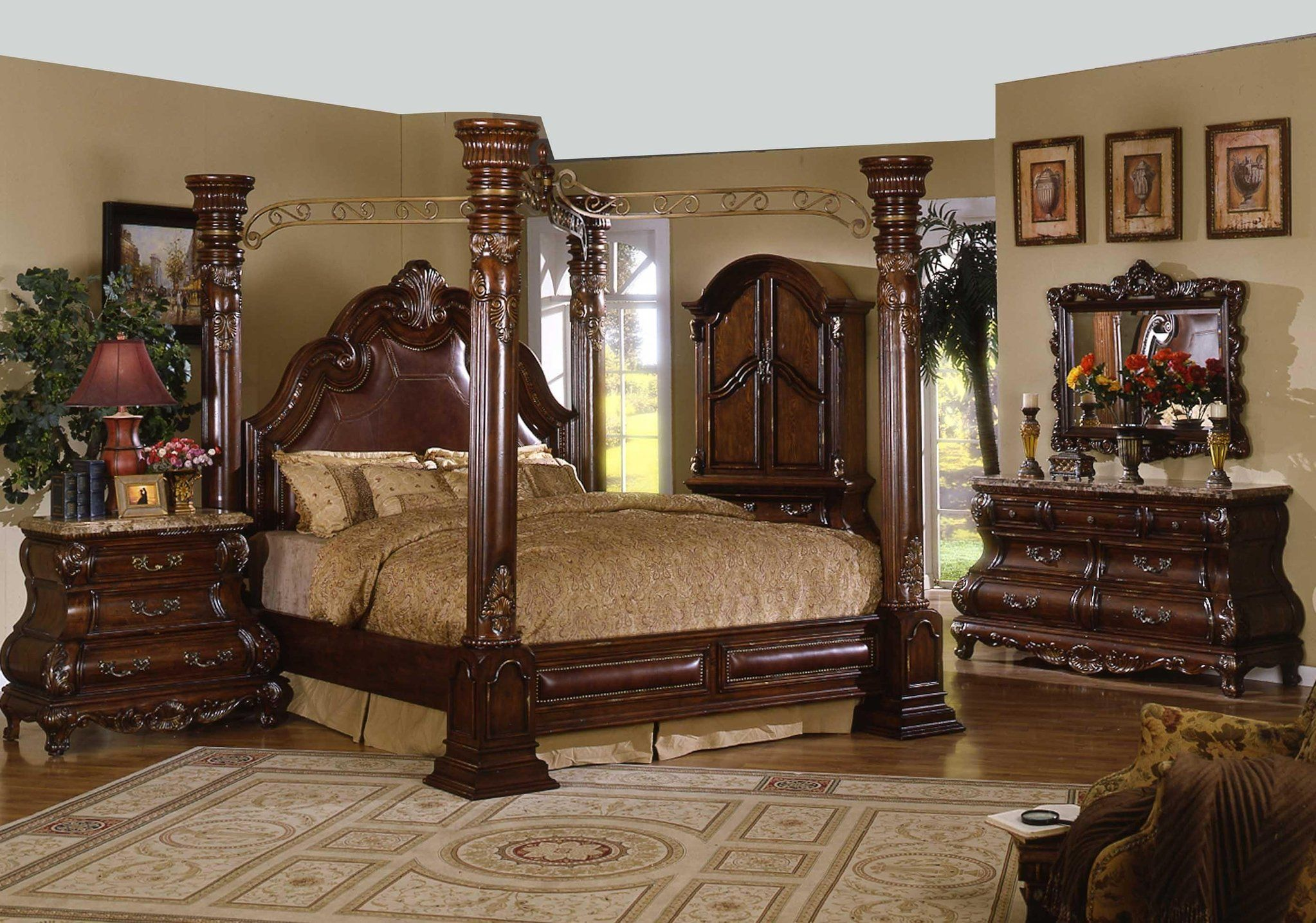 Magnificent cal king bedroom sets with top quality wooden