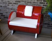 Oil Drum Chair | Recycled ideas! | Pinterest | Drums, Oil ...