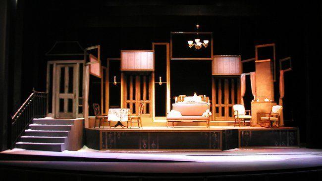 A Doll's House Miami University Theatre Set Designs For Theatre