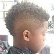 little boy mohawk haircut