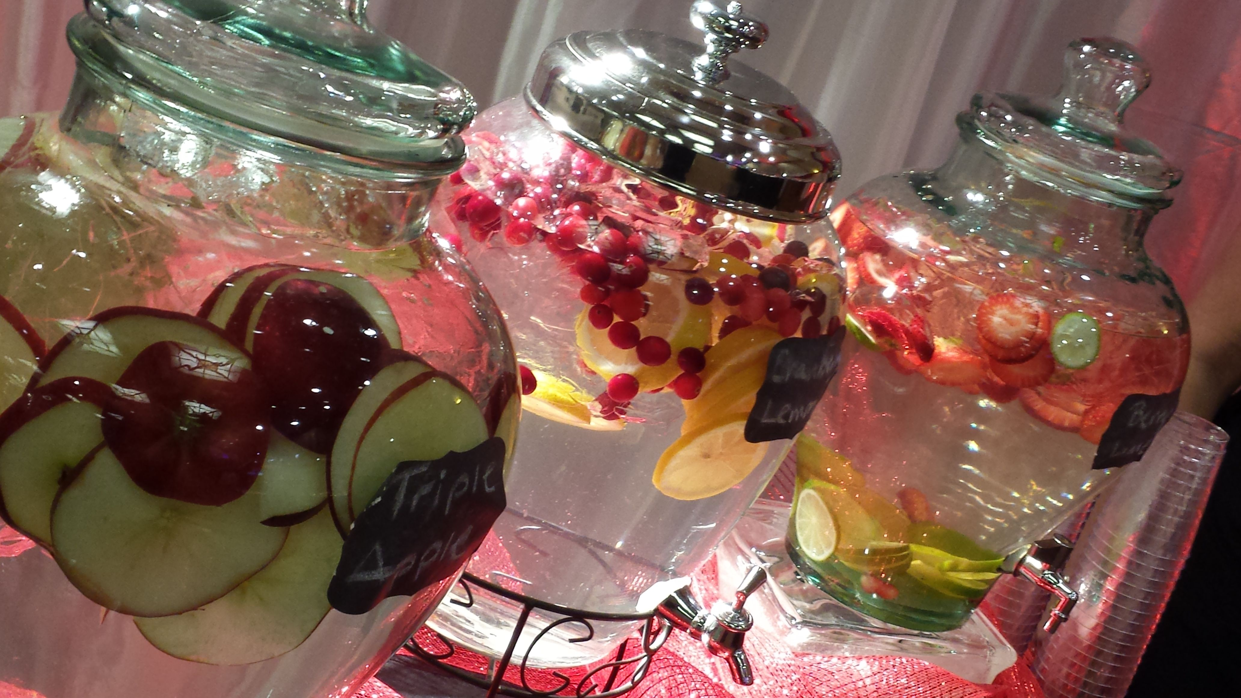 Use Sinks At A Salon For Drink Bins When Having An Event! My