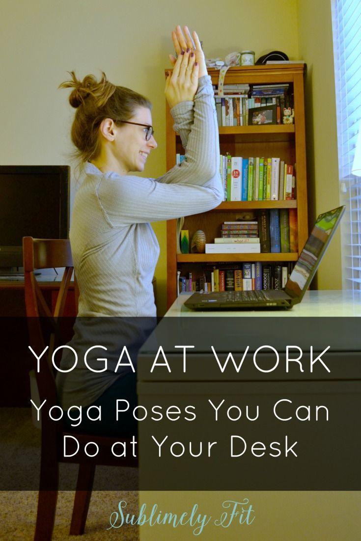 Best 25 Desk yoga ideas on Pinterest  Office yoga