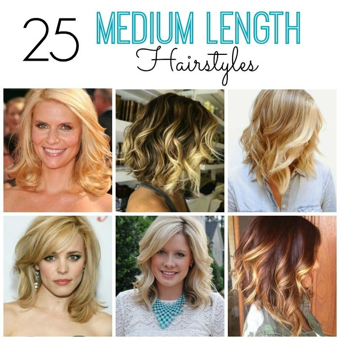 25 Medium Length Hairstyles You'll Want To Copy Now Прически