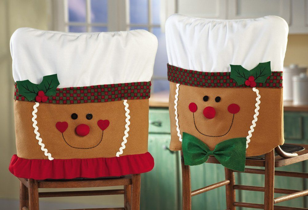 xmas dining room chair covers wheelchair gloves christmas holiday cover pattern | time pinterest covers, ...