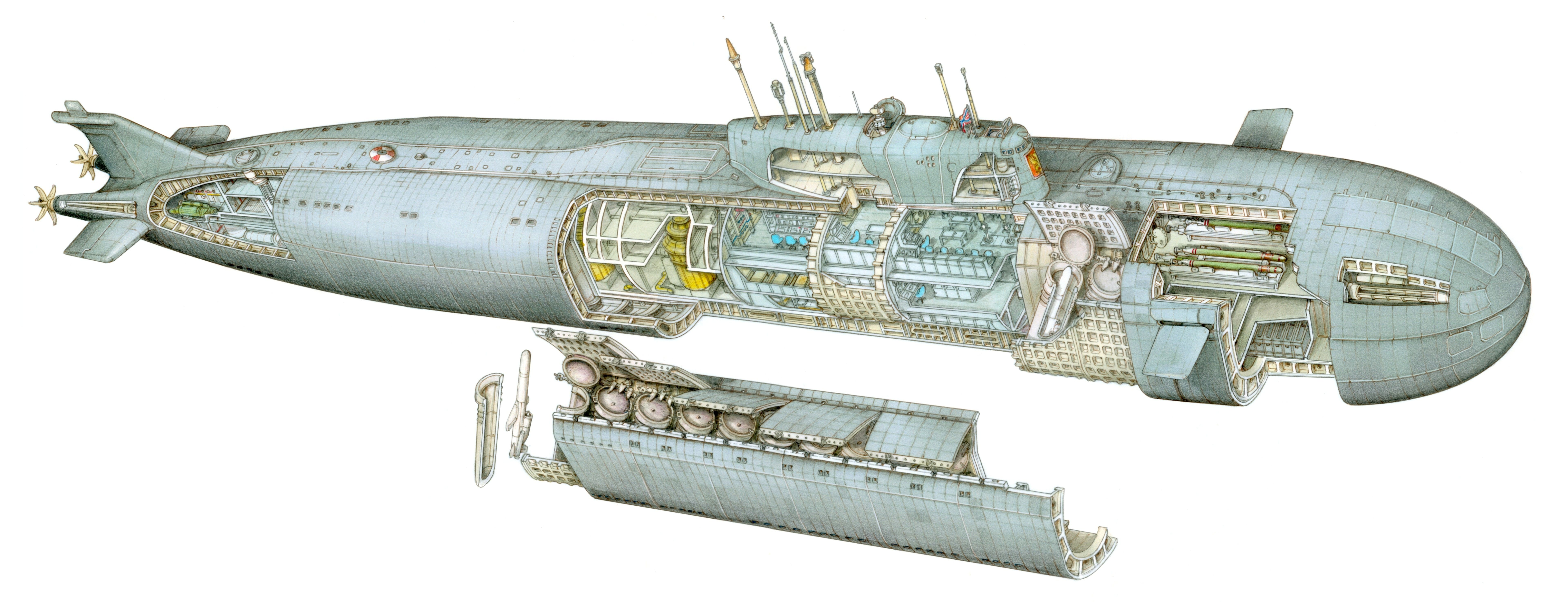 ohio class submarine diagram 4 wire 220 volt wiring kursk nuclear  pinteres