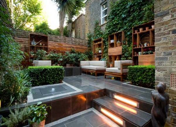 Unique Urban Garden Design Ideas With Outdoor Funiture And
