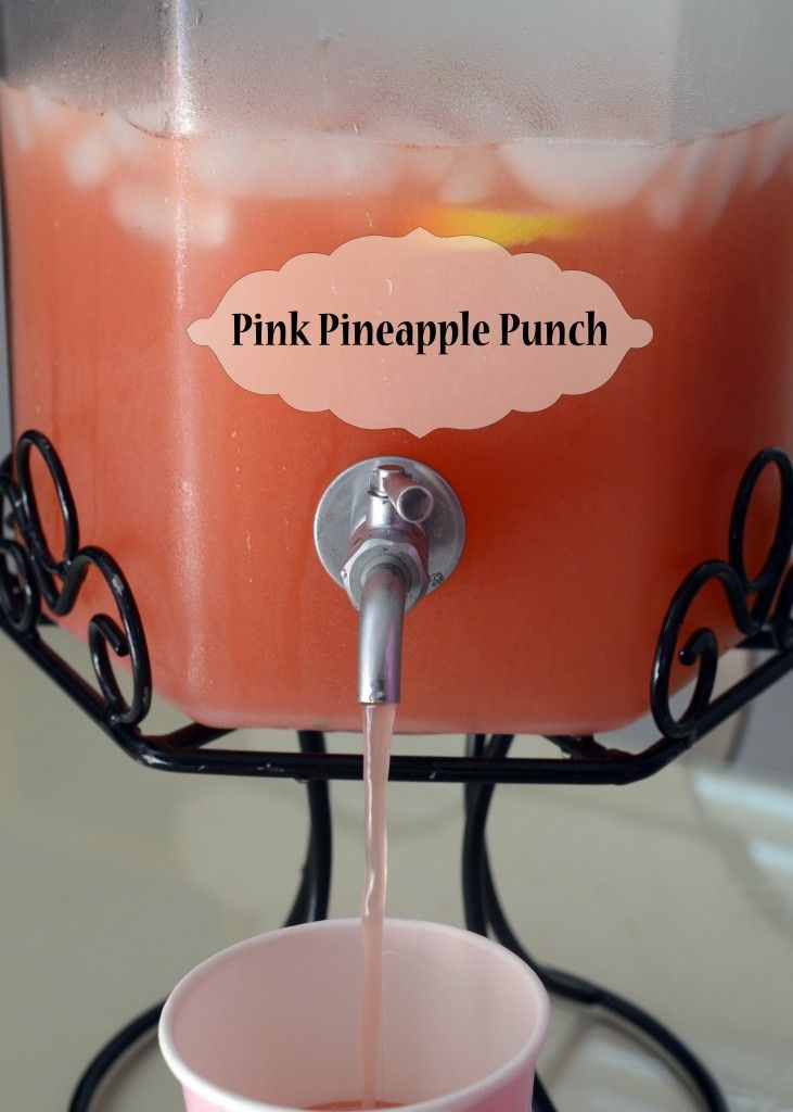 Baby Shower Punch Pineapple Juice