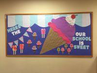 Ice cream bulletin board | Toddlers | Pinterest | Bulletin ...