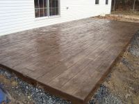 Concrete Stamped Stone Patio | Stamped Concrete Galleries ...