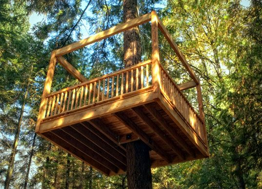 Elevated Living's Hooked Up Eco Friendly Tree Houses Tree Houses