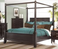 Martini Suite King Size Canopy Bed from Millennium by ...