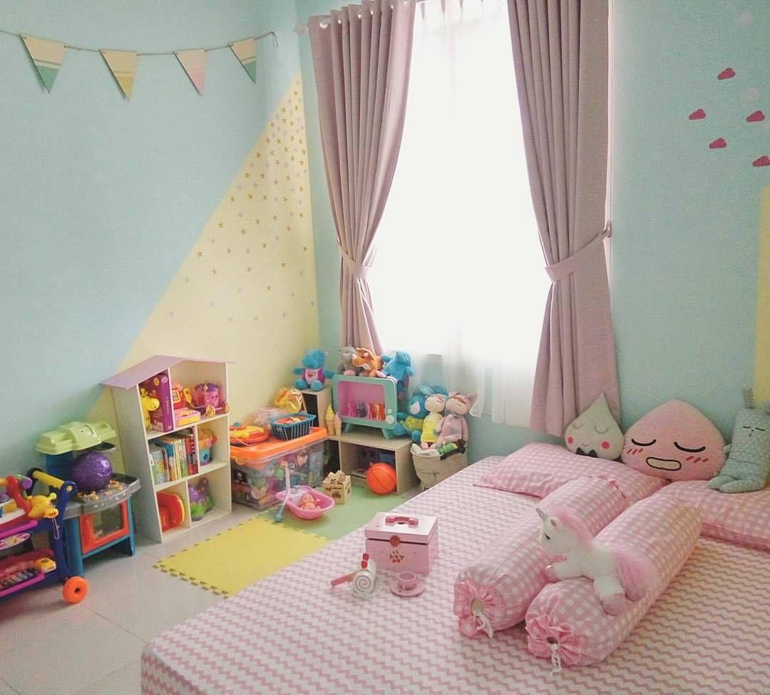 Ide Dekorasi Dinding Kamar Anak Perempuan Cewek  Dekorasi