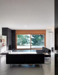 Villa carber by buratti architetti also villas interiors and living rooms rh pinterest
