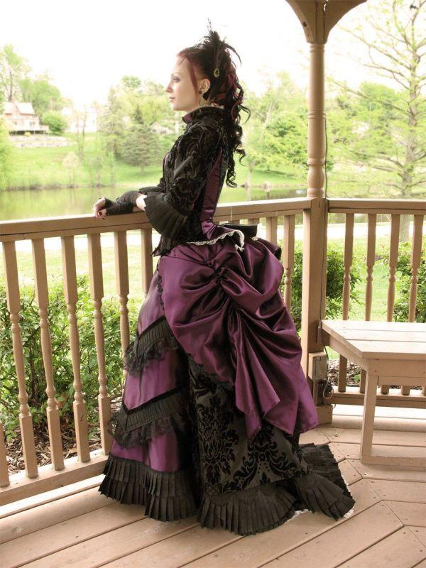 Victorian Steampunk Bustle Dress