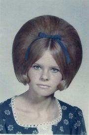 vintage american teen girls' hairstyles