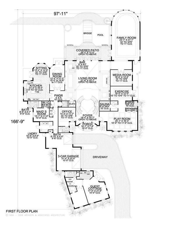 Nice Southwest House Floor Plans For Southwest House Floor