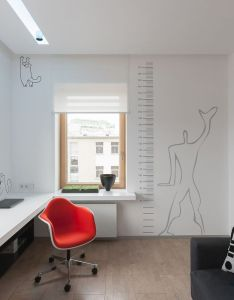 Home designing  mdash via  colorful modern space for stylish couple also  apartment picture gallery maison moderne pinterest rh nz