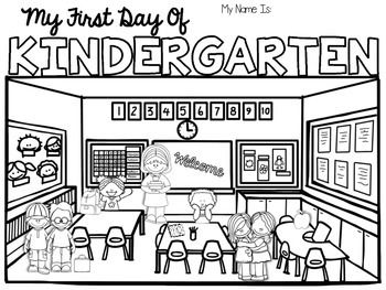 These coloring pages will make an easy first day of school