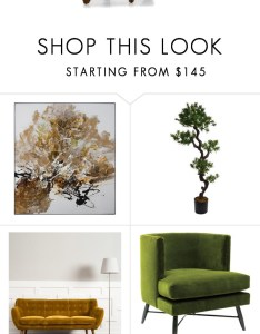 Golden green by katrisha art liked on polyvore featuring interior interiors also rh pinterest