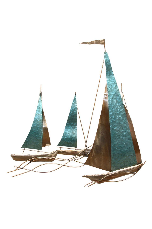 Stratton home decor sailboat wall in multi also art rh pinterest