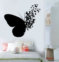 Vinyl Wall Decal Butterfly Home Room Decoration Mural ...