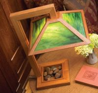 woodworking projects | Arts & Crafts Table Lamp ...