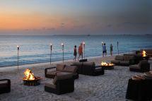 Tiki Torches Beach Wedding Ideas