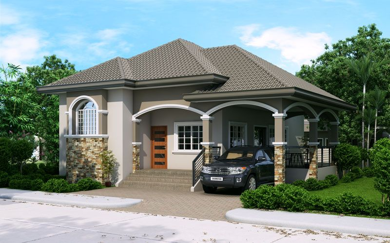Elevated One Storey House Design Like PHD 2015022 Take Advantage
