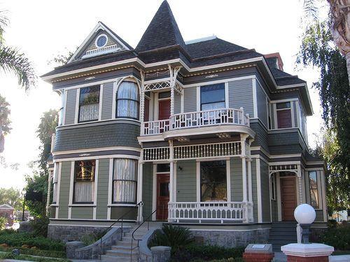 Exterior House Paint Color Ideas Victorian Homes
