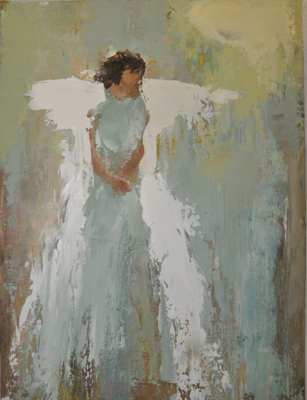 Charlotte Artist Anne Neilson Etherial Angel Series And Represented