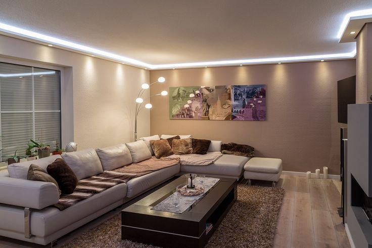 pinterest beleuchtung decke wohnwand led und indirekte beleuchtung