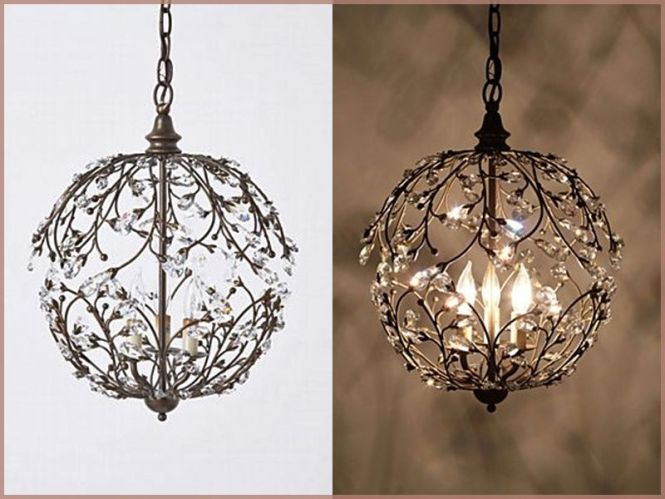 Suitable Chandelier For Library Lambent Sphere Design Chandeliers Inspiration