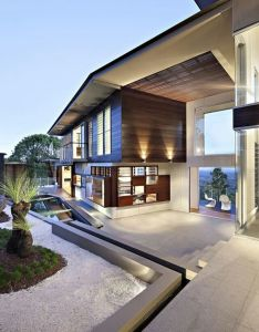 Dream home also the glass house mountain houses and rh za pinterest