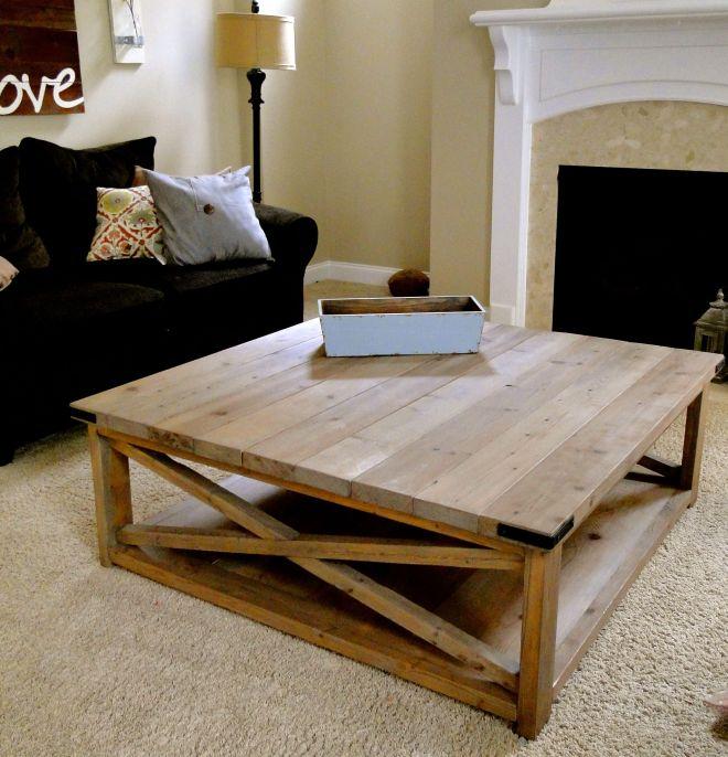 Crazy beautiful diy coffee table living room tutorials