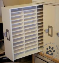 DIY Instructions for Ink pad storage made using ...