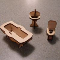 how to make dollhouse furniture out of household items ...