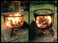 Cool Australian Army fire pit. | Fire pits, BBQ's and ...