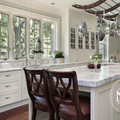 Nantucket Polar White Kitchen Cabinets Turquoise Rugs Cabinets- By All Wood ...